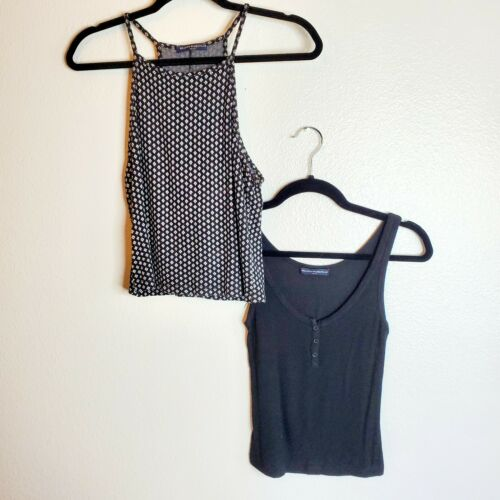 Brandy Melville Womens Set Of 2 Tank Tops One Size