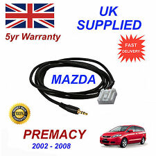 Mazda Premacy AUX 3.5mm Input Audio cable High Quality Sound model year 02-08