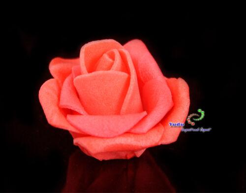 Rosenblüten Rosenköpfe Foamrosen Dekorosen Schaumrosen