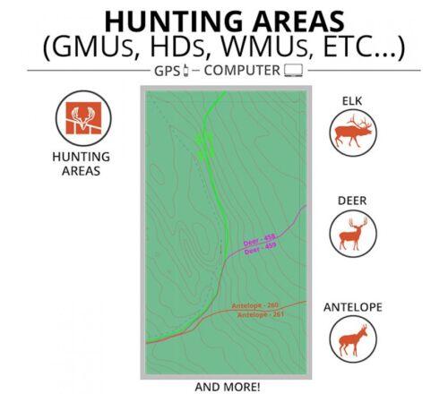OnXmap Hunt OHIO Premium Map for Garmin GPSHunting GPS MapsMicroSD Card
