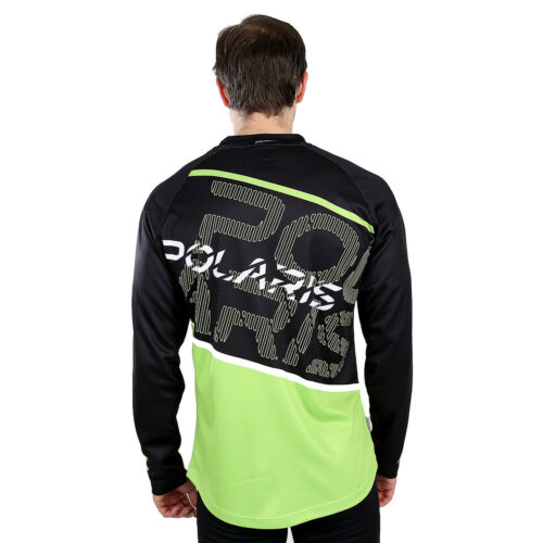 NEW POLARIS AM DEFY MOUNTAIN BIKE MTB LONG SLEEVE RELAXED FIT JERSEY