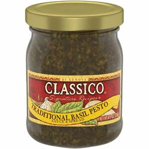 Classico-Traditional-Basil-Pesto-Sauce-amp-Spread-8-1oz