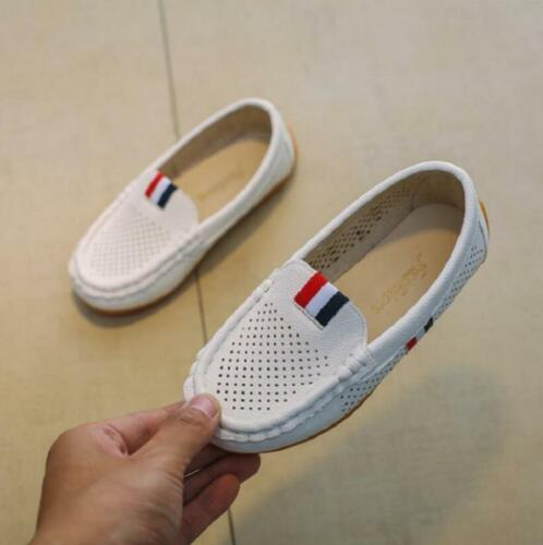 Kids Comfy Shoes Boys Children/'s Casual Hollow Breathable Sneakers Slip-on Shoes