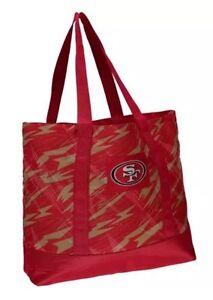 f31c23edac6 NFL San Francisco 49ers Women s Shatter Tote Bag 889345071001