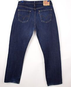 Levi's Strauss & Co Hommes 751 02 Jeans Jambe Droite Taille W38 L34 BCZ125