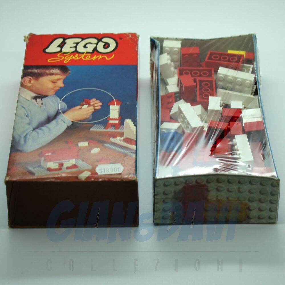 1965 Lego 010 Basic Building Set in Cardboard + Box 03