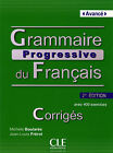 Grammaire progressive du français - Niveau avancé avec 400 exercices. Corrigés (2013, Kunststoffeinband)