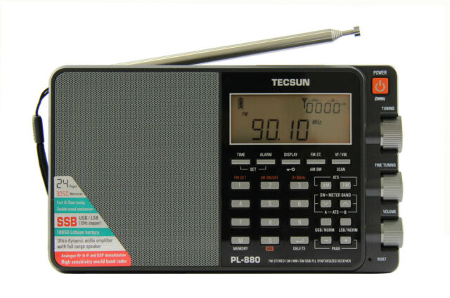 TECSUN PL-880 PLL Multi Conversion AM/FM, Longwave Shortwave, SSB Radio Receiver