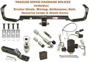 trailer tow hitch pkg deluxe fits 07 09 hyundai santa fe. Black Bedroom Furniture Sets. Home Design Ideas