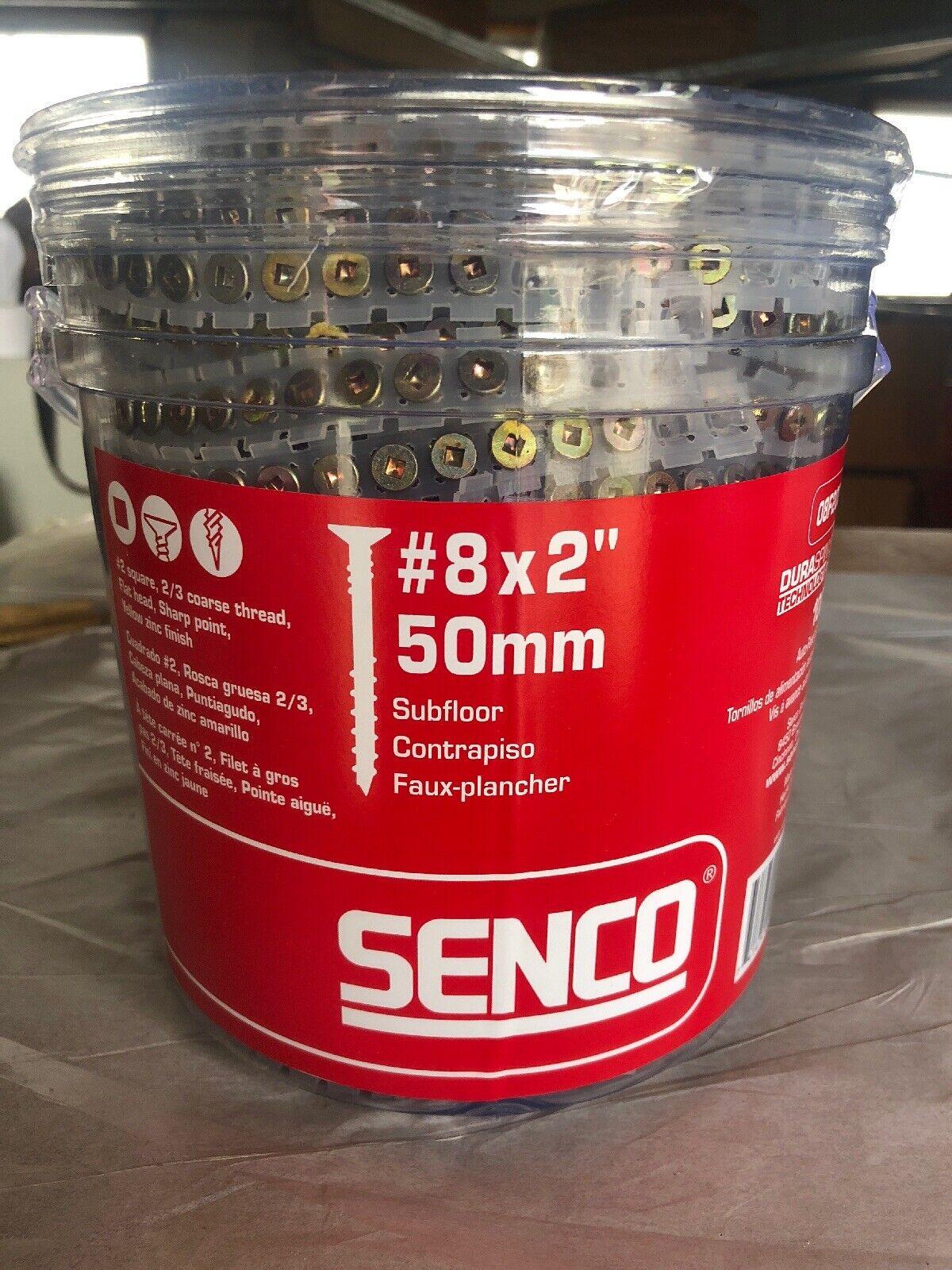 Senco DuraSpin 8x2 Floor Sheathing Screws 08F200Y