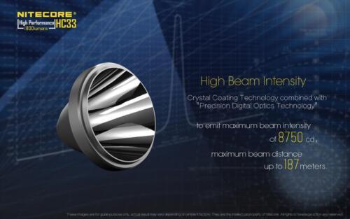 NITECORE HC33 1800 Lumens High Performance Versatile L-Shaped Headlamp