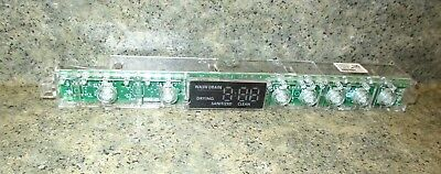 Whirlpool Dishwasher User Interface Board Buttons W10629160 WPW10629160