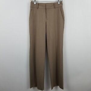 Lauren-Ralph-Lauren-Women-039-s-Brown-Tan-Trouser-Career-Dress-Pants-Sz-2