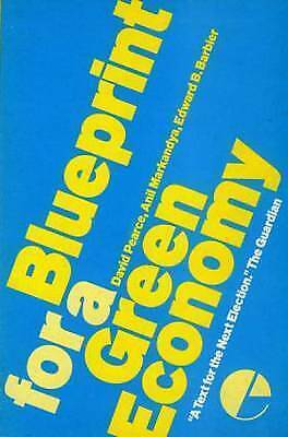1 of 1 - Blueprint For a Green Economy by David Pearce, Anil Markandya, Edward Barbier