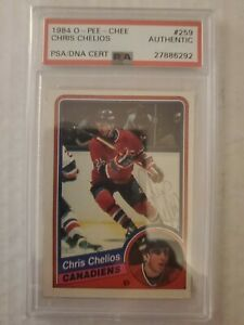 1984-O-Pee-Chee-Chris-Chelios-Rookie-Auto-PSA-DNA