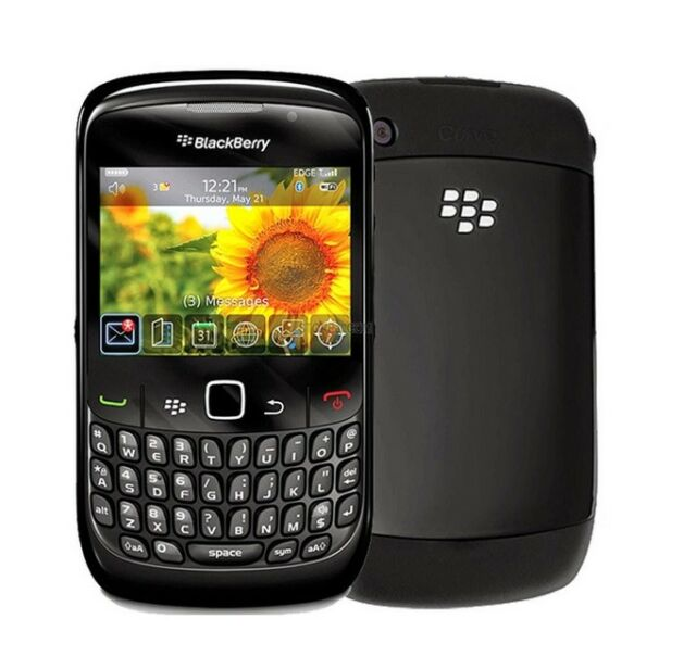 BlackBerry Curve 8520 - Black GSM (Unlocked) Smartphone Cell Phone AT&T T-Mobile