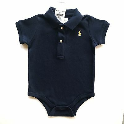 New Baby Boys Ralph Lauren Body Suit//Romper 9 Months