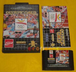 OLYMPIC-GOLD-BARCELONA-039-92-Mega-Drive-Versione-PAL-Europea-MegaDrive-COMPLETO