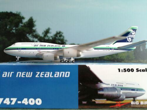 BigBird 1:500 Air New Zealand B747-400 plus Herpa Wings Katalog