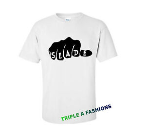 Slade-poing-white-t-shirt-dope-Mickey-main-Homies-obeir-rock-band