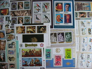 PENRHYN 19 different MNH stamps, souvenir sheets! (+2 extra U) PLZ read descr