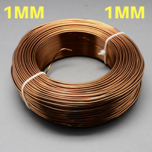1mm-Aluminium-Craft-Florist-Wire-Jewellery-Making-Saddle-Brown-10m-lengths