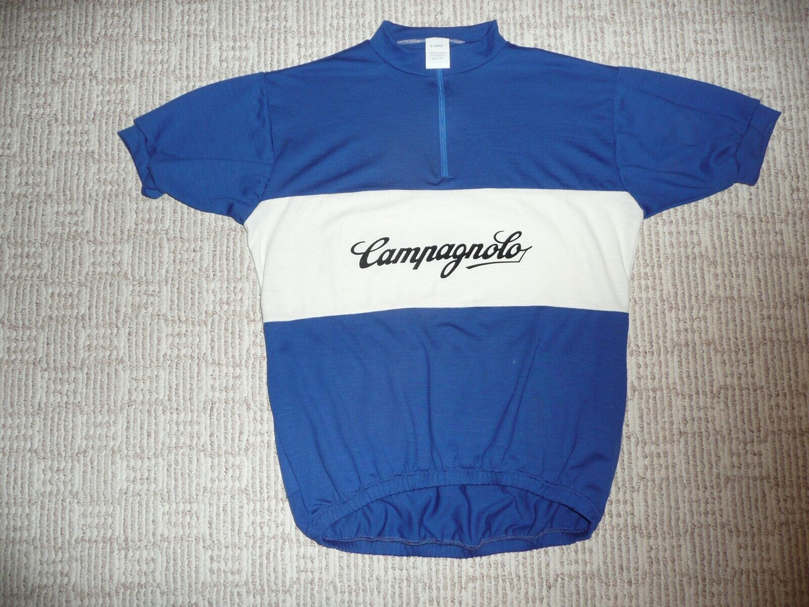 ITALIANA squadra vintage classeIC RETRO lana bicicletta JERSEY XL squadra BREVE