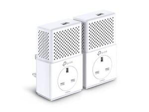 TP-Link-TL-PA7010P-KIT-AV1000-Gigabit-Passthrough-Powerline-HD-TV-Gaming-Adapter