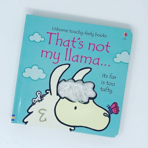 That/'s Not My Llama Usborne Touchy-Feely Lama Tactile Sensory Baby Book