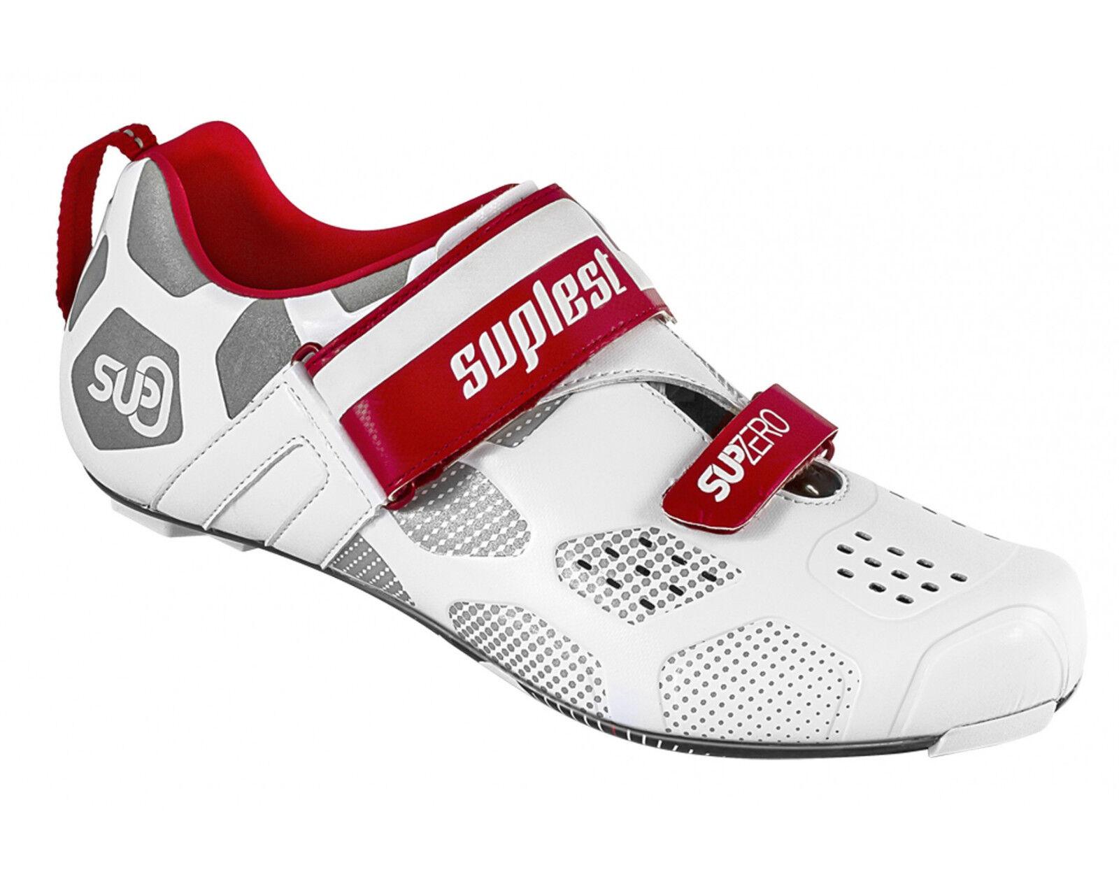 Suplest Supzero Triathlon Carbon Triathlon Schuhes EU 45 US New 12 New US e18aa1
