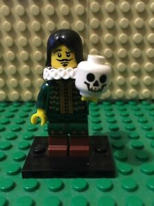 Genuine-Lego-Minifigures-Series-8-Thespian-Hamlet-Shakespeare-Actor