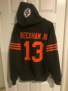 new style f669d 598a0 Details about Cleveland Browns Odell Beckham Jr. Jersey Style Hoodie Hoody  Hooded Sweatshirt