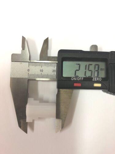 Buderus BE-A//DE//RE//BRE Steckkupplung 2-fächig d=8mm l=22,5mmMitnehmer zweistufig