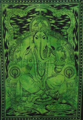 Indian Goddess Poster God Room Hindu Religious Hippy Wall hanging Tapestry Throw