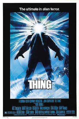 Alfred Hitchcock Psycho 1981 Replica Print Horror Framed Retro Movie Poster