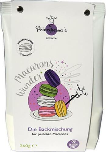 Backmischung schneeweiß Principessas Macaronswunder
