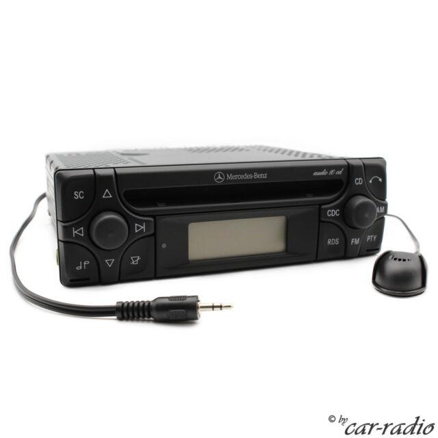 Mercedes Audio 10 CD MF2910 MP3 Bluetooth Avec Microphone Autoradio aux-In Jack