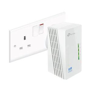 TP-Link-TL-WPA4220-V4-300Mbps-AV600-WiFi-Powerline-Range-Extender-Adapter-UK