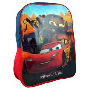 DISNEY CARS LARGE ARCH BACKPACK WITH ADJUSTABLE PADDED SHOULDER STRAPS BRAND NEW