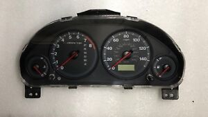 2001 2002 Honda Civic EX Coupe AT w// Side SRS w//o ABS Speedometer Gauge Cluster