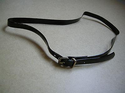 * Nuovo * Stile Retrò Skinny Marrone Cintura Regolabile – 31ins Di Lunghezza-mostra Il Titolo Originale