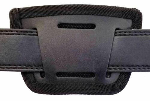 BLK Leather Inside /& Outside Waistband Holster For Smith /& Wesson Shield SLH