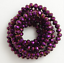 40Pcs Rondelle faceted Crystal Glass Loose Spacer Beads for Jewelry Making 8mm