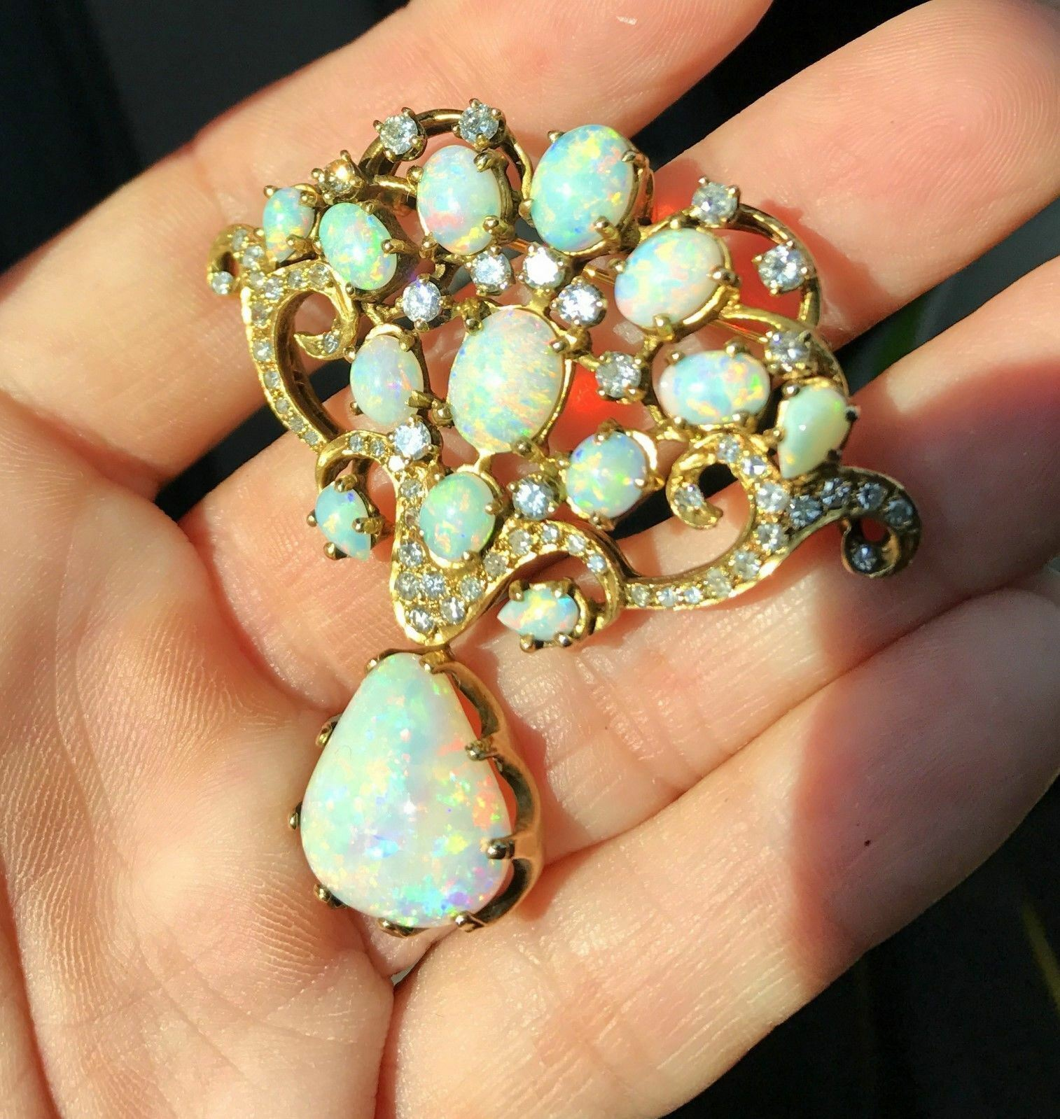 enlarge and diamond click fabulous photo art opal french to brooch nouveau