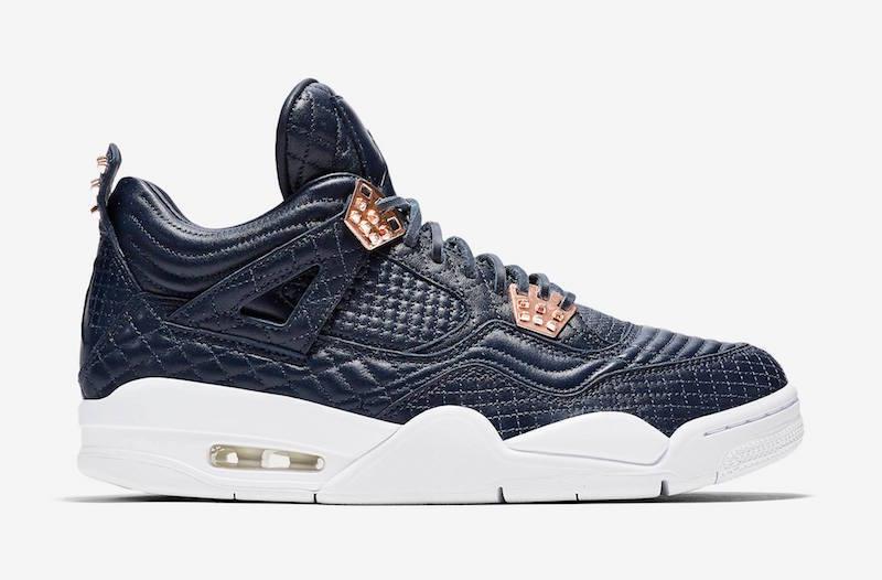 2016 Nike Air Jordan 4 IV Premium SZ 11.5 Obsidian Navy bluee Pinnacle 819139-402