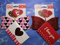 Lot Of 2 Card For Sales - Holds A Gift Card ( Chocolate Box Topper )