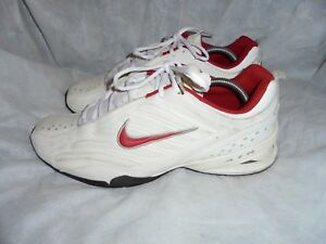 Us Size Nike Trainers Air White Up Leather 46 Uk 11 Men Eu Vgc Lace 12 TTH7xw