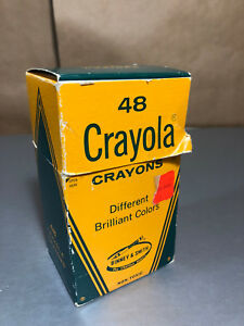 vintage crayola crayons 48 binney and smith retired colors maize ebay