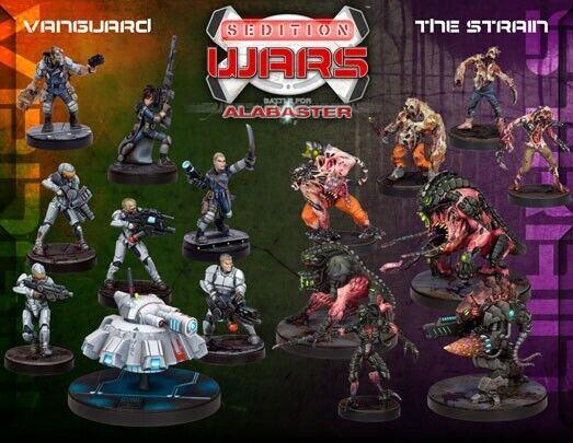 Sedition Wars Battle for Alabaster Board Game sealed
