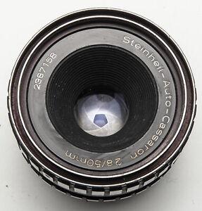Steinheil-Auto-Cassaron-1-2-8-2-8-50mm-50-mm-M42-Anschluss